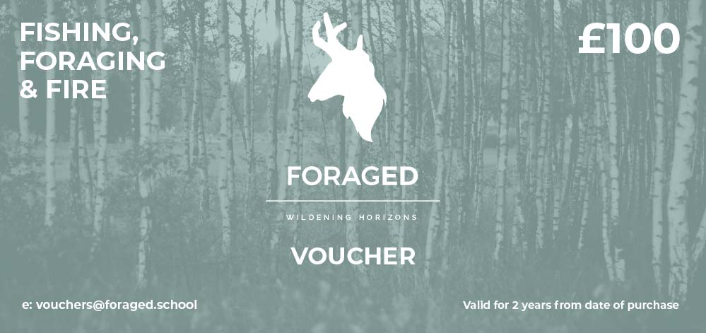 Fishing, foraging and fire voucher